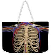 Rib Cage With Nerves, Arteries Weekender Tote Bag