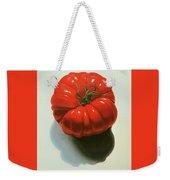 Ribbed Heirloom Tomato Weekender Tote Bag