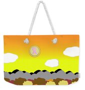 Ribbon Over Mountains Weekender Tote Bag