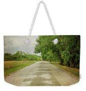 Ribbon Road - Sidewalk Highway Weekender Tote Bag