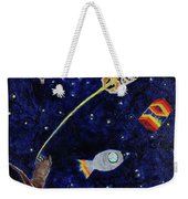 Ribcage To The Stars Weekender Tote Bag