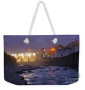 Ribeira Grande At Night Weekender Tote Bag