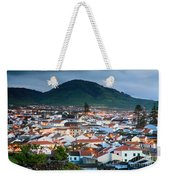 Ribeira Grande At Nightfall Weekender Tote Bag