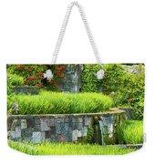 Rice Garden Weekender Tote Bag