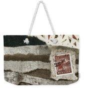 Rice Paddies Collage Weekender Tote Bag