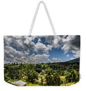 Rice Terrace Weekender Tote Bag