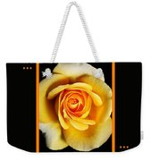 Rich And Dreamy Yellow Rose  With Design Weekender Tote Bag