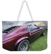 Rich Cherry - '69 Mustang Weekender Tote Bag