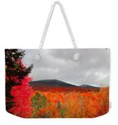 Rich Fall New Hampshire Colors Weekender Tote Bag