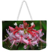 Rich Pink Blossoms Weekender Tote Bag