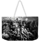 Richard I The Lionheart In Battle At Arsuf In 1191 1877 Weekender Tote Bag