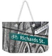 Richards Street Weekender Tote Bag
