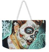 Richie Valens Day Of The Dead Weekender Tote Bag