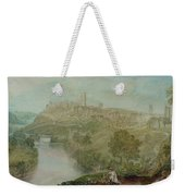 Richmond In Yorkshire Weekender Tote Bag by Joseph Mallord William Turner