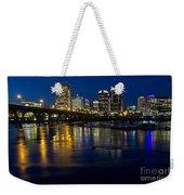 Richmond Night Skyline Weekender Tote Bag