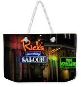 Ricks Sporting Saloon Weekender Tote Bag