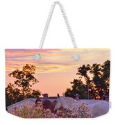 Ride Off Into The Sunset Weekender Tote Bag