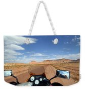Ride To Little Wild Horse Slot Canyon Weekender Tote Bag