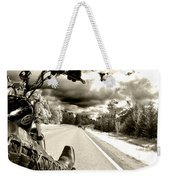 Ride To Live Weekender Tote Bag