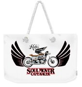 Ride With Passion Cafe Racer Weekender Tote Bag