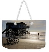 Ride Your Bike To The Beach Weekender Tote Bag