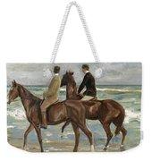 Riders On The Beach Weekender Tote Bag