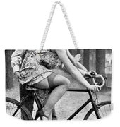 Riding Bike Makes Sexy Weekender Tote Bag