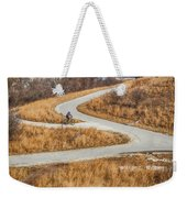Riding In The City Weekender Tote Bag