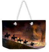 Riding Into Eternity Weekender Tote Bag