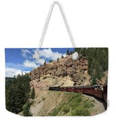 Riding The Cumbres And Toltec Weekender Tote Bag