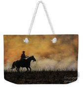 Riding The Fire Line Weekender Tote Bag