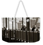 Riding The Golden Gate Weekender Tote Bag