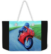 Riding The Highlands - Ducati 999 Weekender Tote Bag