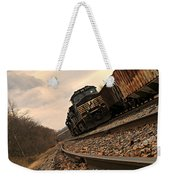 Riding The Rails I Weekender Tote Bag