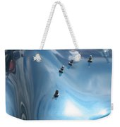 Riding The Surf Weekender Tote Bag