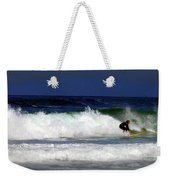 Riding The Waves At Asilomar State Beach Four Weekender Tote Bag