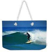 Riding The Waves At Asilomar State Beach Three Weekender Tote Bag