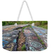 Rift In The Former Route 61 Weekender Tote Bag