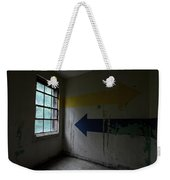 Right Direction, Wrong Time Weekender Tote Bag