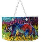Right Of Way - Grizzly Bear Weekender Tote Bag