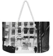 Riis: Lower East Side Weekender Tote Bag