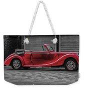 Riley Rmd 1950 Drophead Coupe Weekender Tote Bag
