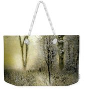 Rimy Forest Windy Daybreak By Laszlo Mednyanszky 1896 Weekender Tote Bag