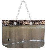 Ring-necked Duck Formation Weekender Tote Bag