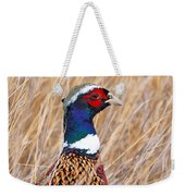Ring-necked Pheasant  Weekender Tote Bag