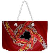 Ring Of Feathers - Abstract Weekender Tote Bag