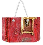 Ring The Alarm Weekender Tote Bag