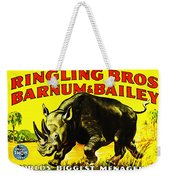 Ringling Brothers Barnum And Bailey Circus Weekender Tote Bag