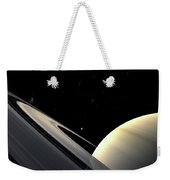 Rings Of Saturn Weekender Tote Bag