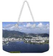 Rio De Janiero Aerial Weekender Tote Bag